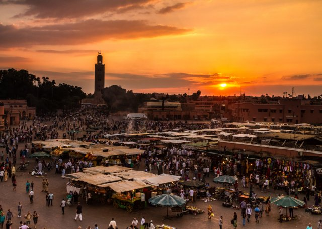 7 shoppingsteder i Marrakech