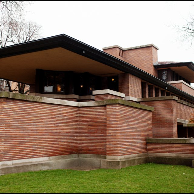 Frank Lloyd Wrights Robie House.