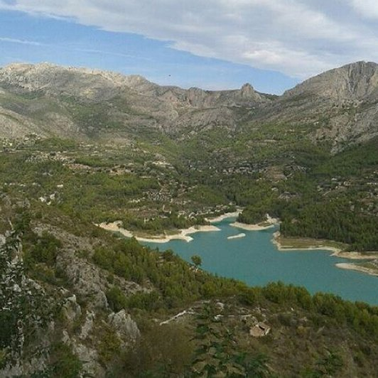GUADALEST @piaingjo Siste sommerminne for i dag..view from guadalest