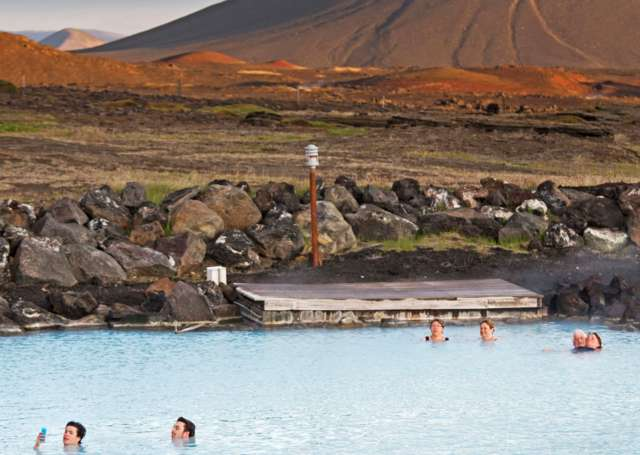 Våre favoritter: Mývatn Nature Baths, Island