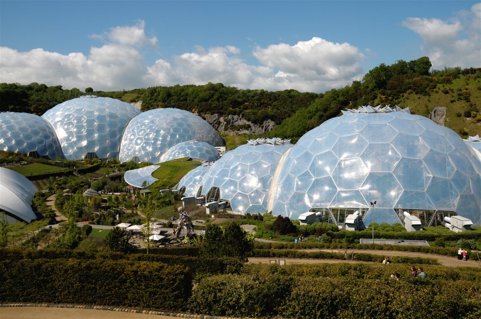 Såpeboblearkitektur: The Eden Project.